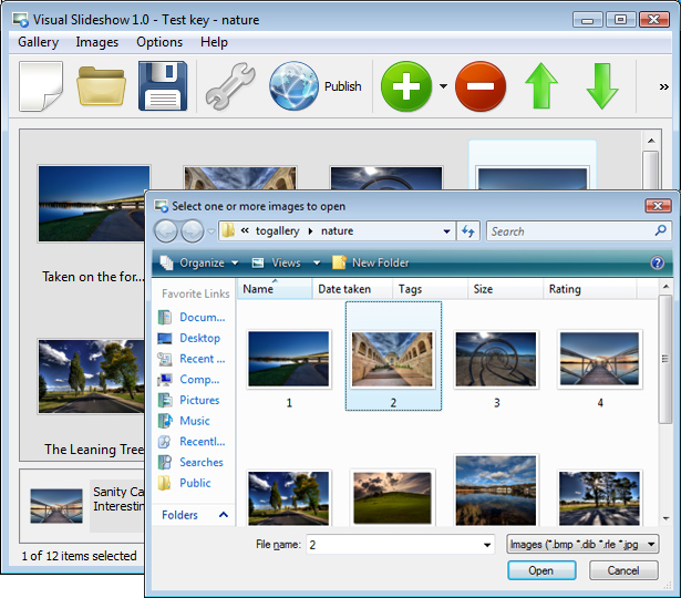  Free Photo SlideShow Software Screenshot